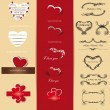 Set of Valentine — Stock Vector #15883763