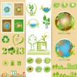 Ecology sets — Stock Vector