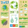 Ecology sets - Stock Vector