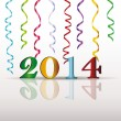 New Year 2014 — Stockvektor