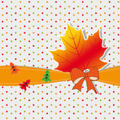 Fall background — Stock Vector