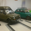 Stock Photo: Fiat 126p. Historic small car produced in Poland. Exchibition of vintage cars in Gemini galery in Bielsko-Bialin Poland
