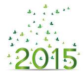 New Year 2015 — Stock Vector