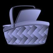 Shopping Basket, vector — Stock Vector