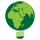 ECO- save the earth, vector — Stock Vector