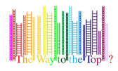 The Way to the Top — Stock Vector