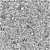 Alphabet background, vector — Wektor stockowy