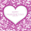 Royalty-Free Stock Vector Image: Valentines day card vector background