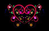 Love's grow, vector — Vecteur