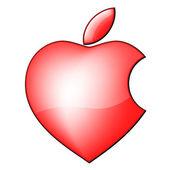 Heart icon, vector — Stock Vector