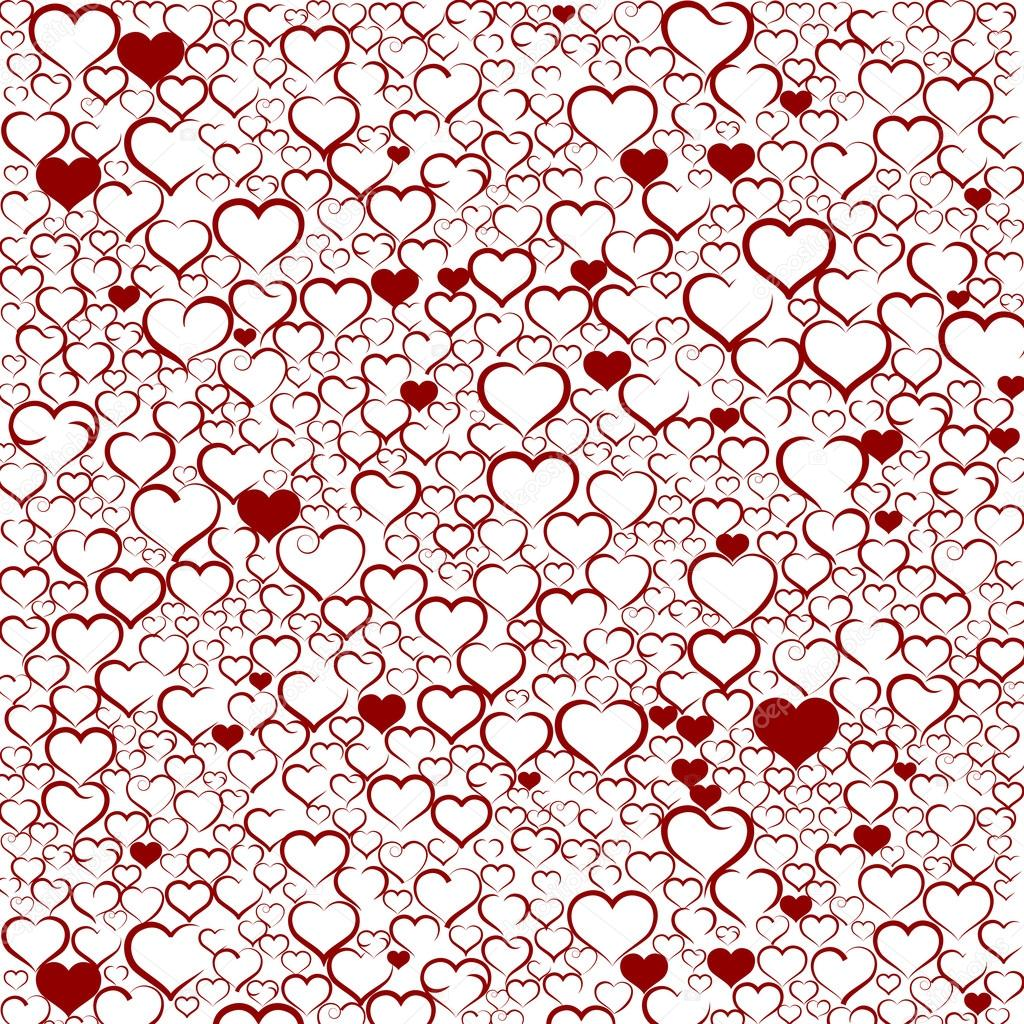 how to make background for valentines