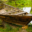 Stock Photo: Old boat