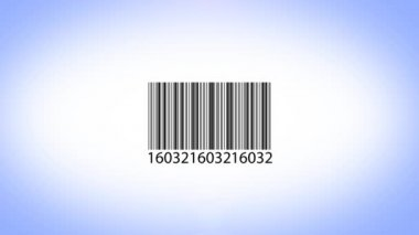 Scanning barcode — Vídeo de stock