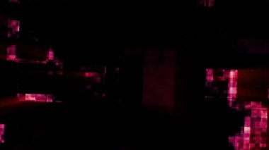 Abstract fantastic red lights — Stock Video