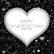 Valentines day card vector background — Vector de stock #31029115