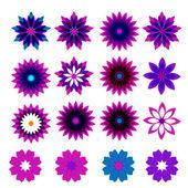 美丽的花卉背景、 矢量 — 图库矢量图片
