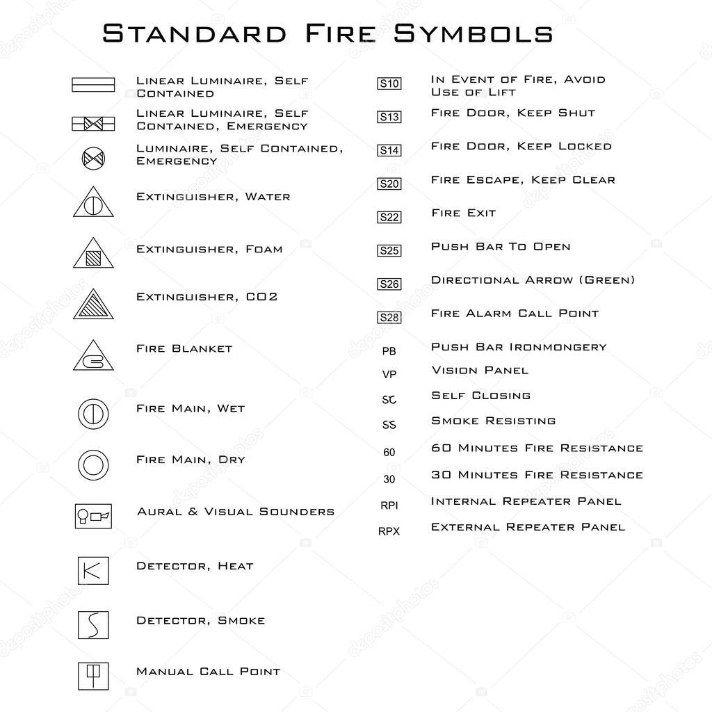 standard brand symboler  u2014 stock vektor  32312969