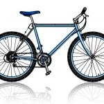 Mountain bike, vector — Stock Vector #32348527