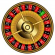 Roulette wheel — Stock Vector #32355245