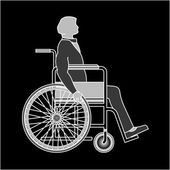 Disabled, vector — Stock Vector