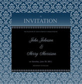 Invitation or announcement frame — Stock Vector