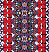 Beautiful eastern pattern — Stock Vector