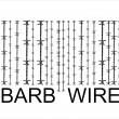 Stock Vector: Barbwire barcode, vector