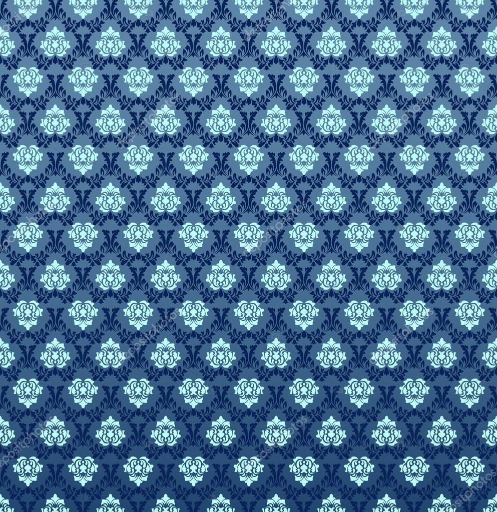 锦缎壁纸花纹无缝矢量 matteobragaglio  砖墙的特写 vladitto  蓝色