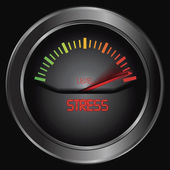 Stress meter — Stock vektor