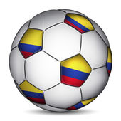 Columbia soccer ball — Stock vektor