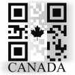 Canada QR code flag — Stock Vector #48350819