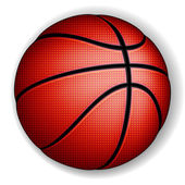 Piłkę do koszykówki — Wektor stockowy