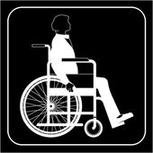 Disabled — Stockvector