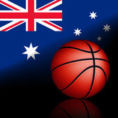 Australian basket ball — Stock Vector