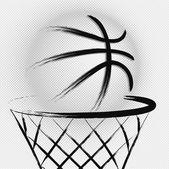Basketball, vector — Stock Vector