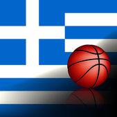 Greeks basket ball, vector  — Stock Vector
