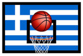 Greeks basket ball — Stock Vector
