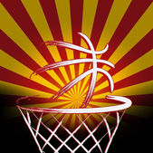 Spanish basket ball — Stock Vector