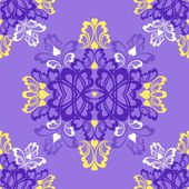 Violet seamless pattern — Stock Vector