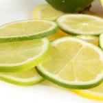 Lemon and lime — Stock Photo #40205327
