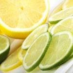 Lemon and lime — Stock Photo #40205415