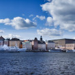 Royalty-Free Stock Photo: Beautiful panorama view of Gamla Stan, Stockholm, Sweden