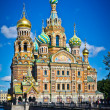 Foto de Stock  : Church of Savior on Spilled Blood, Saint Petersburg, Russia