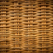 Stock Photo: Brown wicker texture background made from basket