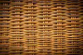 Brown wicker texture background made from basket — Stock Photo