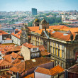 Beautiful view of old city Porto, Portugal - Stock Photo