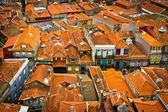 Building roofs of Porto old city, Portugal — Stock Photo