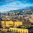 Stock Photo: Beautiful view of Messinold city, Sicily, Italy