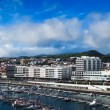 Beautiful view of Ponta Delgada, Acores, Portugal — Stock Photo