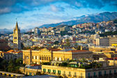 Beautiful view of Messina old city, Sicily, Italy — Stock Photo